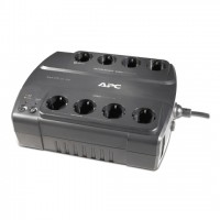 APC Back-UPS BE700G-SP, 700VA/405W, 8 x CEE 7/7 Schuko (4 Battery Backup, all 8 Surge Protected), RJ-11/ RJ-45 Data Line Protection, LED indicators