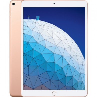 "Apple 10.5"" iPad Air (2019, 256GB, Wi-Fi + 4G LTE, Gold)"