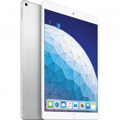 "Apple 10.5"" iPad Air (2019, 256GB, Wi-Fi + 4G LTE, Silver)"