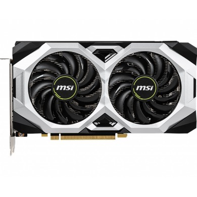 MSI GeForce RTX 2060 SUPER VENTUS GP 8G OC /  8GB GDDR6 256Bit 1665/14000Mhz, 1x HDMI, 3x DisplayPort, Dual fan - Customized Design, TORX Fan2.0, Gaming App, Retail