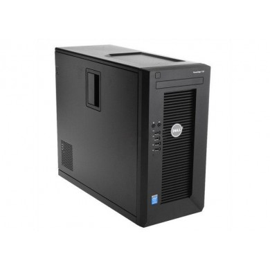 Dell PowerEdge T30 Tower, lntel Xeon E3-1225 (3.3GHz, 8M Cache, 4C/4T, Turbo, 80W), 8GB UDIMM DDR4 RAM, 1TB 7.2K SATA 3.5in Cabled Hard Drive, DVD-RW, TPM, Single PSU 290W, 3Y Warranty