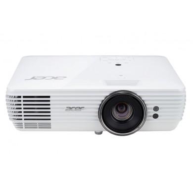 ACER V6815 (MR.JQJ11.001)DLP,4K UHD, 3840x2160, 12000:1,2400Lm, 10000hrs (Eco), 2xHDMI, VGA, 10W Mono Speaker, White, 3.5 Kg