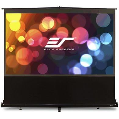"Elite Screens 84""(4:3) 177x128cm ez Cinema Series Telescoping Pull Up Series, Black"