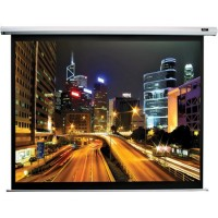 "Elite Screens 125""(16:9) 277x156cm Spectrum Series Electric Screen with IR/Low Voltage 3-way wall box, Black"