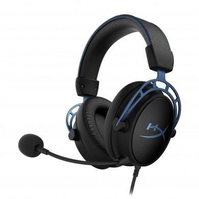 Casti Gaming HyperX Cloud Alpha S , black/blue [HX-HSCAS-BL/WW]