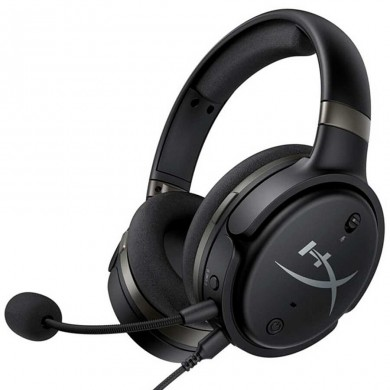 Planar headset  HyperX Cloud Orbit, Black, Solid aluminium build, Microphone: det., Frequency response: 10Hz–50,000 Hz, USB-C to USB-A: 3m / USB-C to USB-C:1.5m / 3.5mm: 1.2m, Audeze™ planar magnetic drivers, Waves Nx® fully immersive 3D audio
