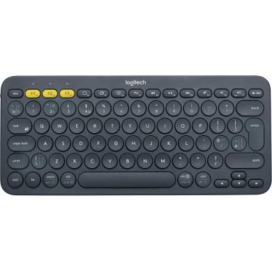 Logitech Bluetooth K380 Multi-Device Keyboard, Dark Grey