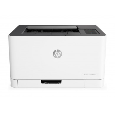 Printer HP Color LaserJet 150nw, White, Up to 18ppm b/w, Up to 4ppm color, 600x600 dpi, Up to 20000 p., 64MB RAM, indicator,  PCL 5c/6, Wi-Fi 802.1, USB 2.0,Apple AirPrint™; Google Cloud Print™; Mopria™; Wi-Fi® Direct (HP 117A/X Bl/C/Y/M)
