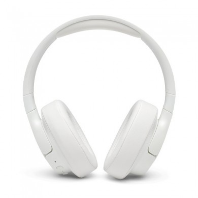 JBL TUNE 750BTNC/ Bluetooth On-ear headphones with microphone, BT Type 4.2, Dynamic driver 40mm, Hands-free calls & Voice control, Active Noise Cancelling, JBL Pure Bass sound, White