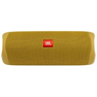 JBL Flip 5 Yellow / Bluetooth Portable Speaker, 20W RMS, BT Type 4.2, Frequency response: 70Hz – 20kHz, IPX7 Waterproof, Speakerphone, 4800mAh rechargeable Li-ion battery, JBL Connect, JBL PartyBoost, Power Supply: 5V / 1A, Battery life (up to) 12 hr