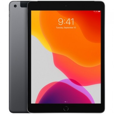 "Apple 10.2"" iPad (2019, 128GB, Wi-Fi + 4G LTE, Space Gray)"