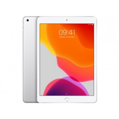 "Apple 10.2"" iPad (2019, 128GB, Wi-Fi + 4G LTE, Silver)"