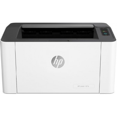 Printer HP LaserJet PRO M107a, White,  A4, 1200 dpi, up to 20 ppm, 64MB, Up to 10k pages/month, USB 2.0, PCLmS, URF, PWG, W1106A Cartridge (~1000 pages) Starter ~500pages