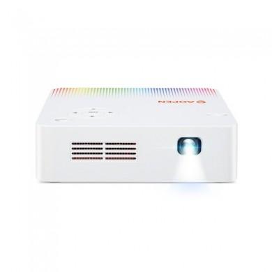 AOPEN (by Acer) PV10 (MR.JRJ11.001), DLP, WXGA, 854x480, 5000:1, 300 ANSI lm, 30000hrs (Eco), WiFi, USB, Multimedia Player: EDTV, HDTV, SDTV,  Audio Line-out, HDMI, 3W Mono Speaker, White, 0.35kg