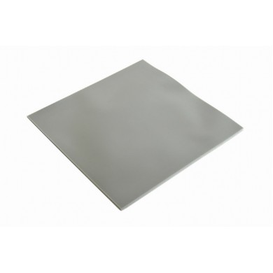 Heatsink Silicone Thermal pad Gembird TG-P-01, 100 x 100 x 1 mm, Operation Temperature: -40 ~ 250° C, Grey