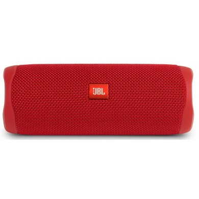 JBL Flip 5 Red / Bluetooth Portable Speaker, 20W RMS, BT Type 4.2, Frequency response: 70Hz – 20kHz, IPX7 Waterproof, Speakerphone, 4800mAh rechargeable Li-ion battery, JBL Connect, JBL PartyBoost, Power Supply: 5V / 1A, Battery life (up to) 12 hr