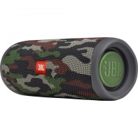 JBL Flip 5 Squad / Bluetooth Portable Speaker, 20W RMS, BT Type 4.2, Frequency response: 70Hz – 20kHz, IPX7 Waterproof, Speakerphone, 4800mAh rechargeable Li-ion battery, JBL Connect, JBL PartyBoost, Power Supply: 5V / 1A, Battery life (up to) 12 hr