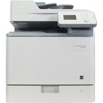 MFP Canon iR-C1225IF MFP, Color Printer/Copier/Color Scanner/ DADF(50-sheet),Duplex,Net,  A4-25/25ppm,25–400% step1%, RAM 1Gb,1200x1200dpi,Scan 600x600dpi-24 bit, 1x550-sheet Cassette,60-163г/м2,034 (BK/C/M/Y)BK 12 000 / CMY 7300, WT-A3