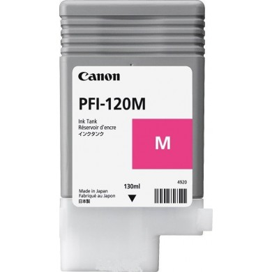 Ink Cartridge Canon PFI-120 Magenta EMEA , 200ml for Canon imagePROGRAF TM-200, TM-205, TM-300, TM-305