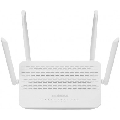 EDIMAX BR-6478AC V3  AC1200 Wave 2 Dual-Band Gigabit Router, 3 Modes in 1: Router, WISP, Wi-Fi Bridge, 866Mbps 5GHz + 300Mbps 2.4GHz, 802.11a/b/g/n/ac,1 WAN+4 Gigabit LAN, Multi-SSID, Guest Network, Smart iQ Setup, USB Port, 4 fixed antennas