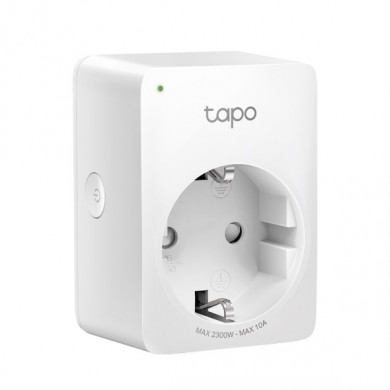 TP-LINK Tapo P100 (1Pack), Smart Mini Plug, Wifi, Remote Access, Scheduling, Away Mode, Voice Control (The Google Assistant, Amazon Alexa)