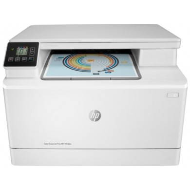 MFD HP Color LaserJet Pro M182n, White, A4, Up to 16 ppm, 256MB RAM, 600x600 dpi, Up to 30000 p., Two-line LCD display, PCL 5c/6, Postscript 3, USB 2.0, Gigabit Ethernet, ePrint,  Mopria™(HP 216A B/C/Y/M)