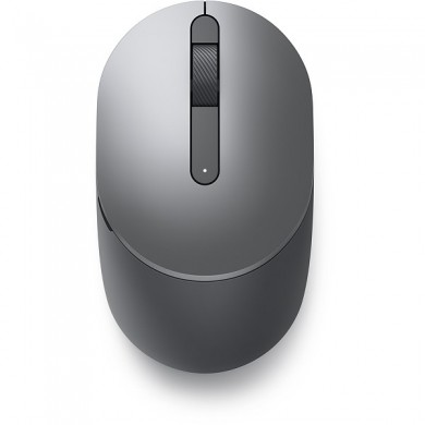 Dell Pro Wireless Mouse - MS5120W - Titan Gray, dual-mode connectivity - 2.4GHz wireless and a Bluetooth 5.0, 1600 dpi, 1 x AA Battery, 3 years Advanced Exchange Service (570-ABHL)