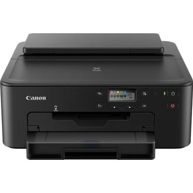 Printer Canon Pixma TS704, A4, Duplex, 4800x1200 dpi_1pl, ESAT 15/10 ipm, Print on CD/DVD, USB 2,0/Ethernet/Wi-Fi & Direct Print, PGI-480PGBK 200p, CLI-481BK 1478p, CLI-481C, CLI-481M, CLI-481Y or XL-series.