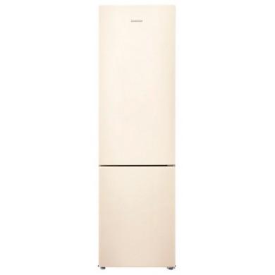 Refrigerator- Samsung RB37J5050EF, Beige, Total volume - 367L, 200.6x59.5x67.5cm, Refrigerator/Freezer volume - 269L/98L, Refrigerator / Freezer - NoFrost, Display, Class - A+ (314kWh), Down Freezer, 71kg