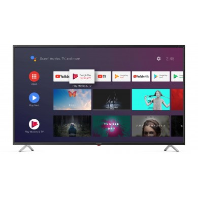 "55"" LED TV SHARP 55BL3EA, Black, 3840x2160 (4K), SmartTV (Android TV), Wifi+Lan, Active Motion 600, HDR, ACE PRO ULTRA Engine, Harman Kardon, RMS 2x10W, HDMIx3, USBx3, Bluetooth, SD Card slot, DVB-T2/C/S2/CI+, Vesa 400x200"