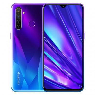 "Realme 5 PRO EU 128GB Blue, DualSIM, 6.3"" 1080x2340 IPS, Snapdragon 712 AIE, Octa-Core 2.3GHz, 4GB RAM, microSD (dedicated slot), 48MP+8MP+2MP+2MP/16MP, LED flash, 4035mAh, WiFi-AC/BT5.0, LTE, Android 9 (Color OS)"