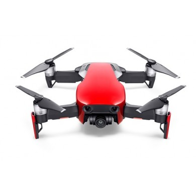 DJI Mavic Air Fly More Combo (EU) / Flame Red - Portable Drone, RC, 12MP photo / 32 MP sphere panoramas, 4K 30fps / FHD 120fps camera, max. 5000m height/ 68.4kmph speed, flight time 21min, Battery 2375 mAh, 430g (extra kit)