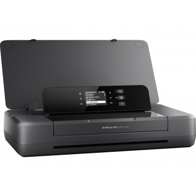Printer Mobile HP OfficeJet 202, Black, A4, up to 10ppm/9ppm AC/Accum b/w, up to 7ppm/6ppm AC/Accum color, up to 4800x1200 dpi, Up to 500 pages/month, Hi-Speed USB 2.0,Wi-Fi, (HP 651 Black 600p, HP 651 C/M/Y 300p)