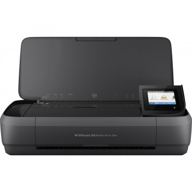 All-in-One Printer HP OfficeJet 252 Black, A4, up to 10ppm/9ppm AC/Accum b/w, up to 7ppm/6ppm AC/Accum color, up to 4800x1200 dpi, Up to 500 pages/month, Hi-Speed USB 2.0,Wi-Fi, (HP 651 Black 600p, HP 651 C/M/Y 300p)