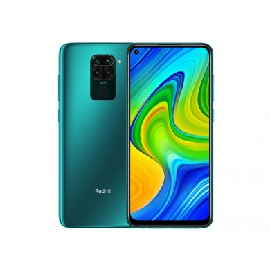 "Xiaomi RedMi Note 9 (No NFC) EU 128GB Green, DualSIM, 6.53"" 1080x2340 IPS, Helio G85, Octa-Core 2.0GHz, 4GB RAM, Mali-G52MC2, microSD (dedicated slot), 48MP+8MP+2MP+2MP/13MP, LED flash, 5020mAh, WiFi-AC/BT5.0, LTE, Android 9.0 (MIUI10), Infrared port"