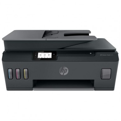 MFD CISS HP Smart Tank 615 Wireless, Black/Gray, A4, ADF 35p, FAX, up to 11ppm/5ppm black/color, up to 4800x1200 dpi, Up to 800 p/m, 800Mhz, 256 Mb, 7 segment LCD, Hi-Speed USB 2.0, Wi-Fi, Bluetooth LE,  (3*GT53XL Black 135ml, 1*GT52 C/M/Y)