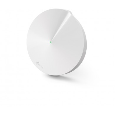 TP-LINK Deco M5 (1-pack)  AC1300 Mesh Wi-Fi System, 2 LAN/WAN Gigabit Port, 867Mbps on 5GHz + 400Mbps on 2.4GHz, 802.11ac/b/g/n, Wi-Fi Dead-Zone Killer, Seamless Roaming with One Wi-Fi Name, Antivirus, Parental Controls