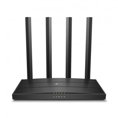 TP-LINK  Archer C80  AC1900 Dual Band Wireless Gigabit Router, Atheros, 1300Mbps at 5Ghz + 600Mbps at 2.4Ghz, 802.11ac/a/b/g/n Wave 2, MIMO 3x3, MU-MIMO, Beamforming, Airtime Fairness, 1 Gigabit WAN+4 Gigabit LAN, 4 fixed antennas