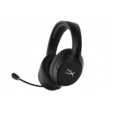 Wireless headset  HyperX Cloud Flight S for PS4/PC, Black, Frequency response: 10Hz–20,000 Hz, Battery life up to 30h, USB 2.4GHz Wireless Connection, Up to 20 meters, Qi Wireless Charging, 7.1 Surround Sound, Customizable onboard controls