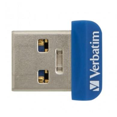 16GB USB3.0  Verbatim Store 'n' Stay NANO, Blue, Ultra-small, (Read 80 MByte/s, Write 25 MByte/s)