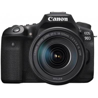 DSLR Camera CANON EOS 90D + 18-55 IS STM (3616C030)
