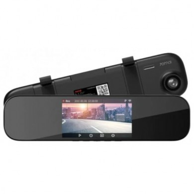 "Xiaomi 70mai Rearview Mirror Dash Cam Midrive D04 EU, FHD+ vehicle recorder (2560x1600), Display 5"", Wide angle: 140°, WiFi, FHD@60fps / 2560x1600@30fps, G-Sensor, MicroSD up to 64GB"