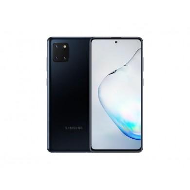 "Samsung Galaxy Note10 Lite EU 128GB Black, DualSIM, 6.7"" 1080x2400 AMOLED, Exynos 9810, Octa-Core 2.7GHz, 8GB RAM, Mali-G72 MP18, microSD (dedicated slot), 12MP+12MP+12MP/32MP, USB-C, 4500mAh, FC, WiFi-AC/BT5.0, Android 10, NFC"