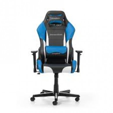 Fotoliu Gaming DXRacer Drifting GC-D61-NWB-M3 / 150kg / 145-175cm / Black/White/Blue