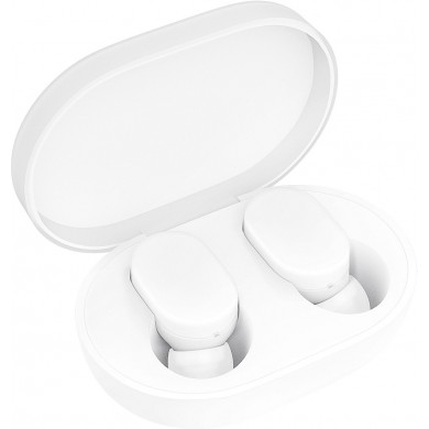 """Xiaomi """"Mi True Wireless Earbuds"""" EU (stereo), White, Bluetooth 4.2, up to 10h play time, Communication distance 10m, Charging case, Control with touch"""