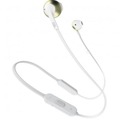 JBL TUNE 205BT / Wireless Earbud headphones, Silver