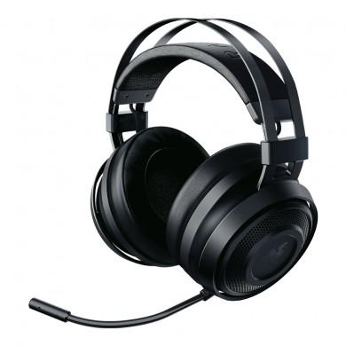 RAZER Nari Essential, Wireless Gaming Headset, Wireless USB Transceiver, Retractable Microphone, Enhanced Comfort, Lag-Free Wireless Performance, featuring THX Spati, Black