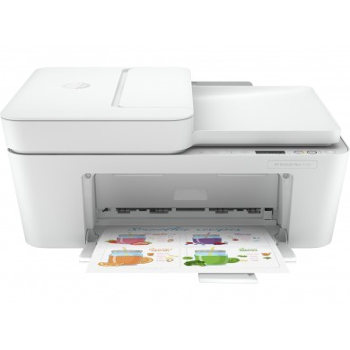 MFD HP DeskJet Plus 4120, White A4, up to 8,5ppm/5,5ppm, ADF 35p 1200x1200, Copy 8,5ppm/5,5ppm, 4800x1200 dpi, FAX, Up to 1000 pages/month, Hi-Speed USB 2.0,Wi-Fi, (HP 305 Black 120p, HP 305 C/M/Y 100p) XL/XXL.