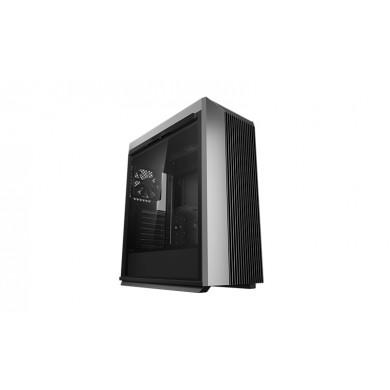 Carcasa DEEPCOOL CL500 / w/oPSU / Side panel / 1x120mm / ATX / Black