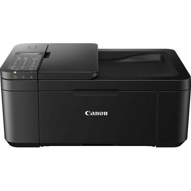 MFD Canon Pixma TR4540 Black, Colour Printer/Duplex/Scanner/Copier/Fax/Wi-Fi, ADF(20-sheet), A4, Print 4800x1200dpi_2pl,Scan 600x1200dpi,ESAT 8.8/4.4 ipm,64-300г/м2,Cassette:100 sheets, USB 2.0, 2 x  Ink Cartridge PG-445,CL-446( PG-445XL,CL-446XL)